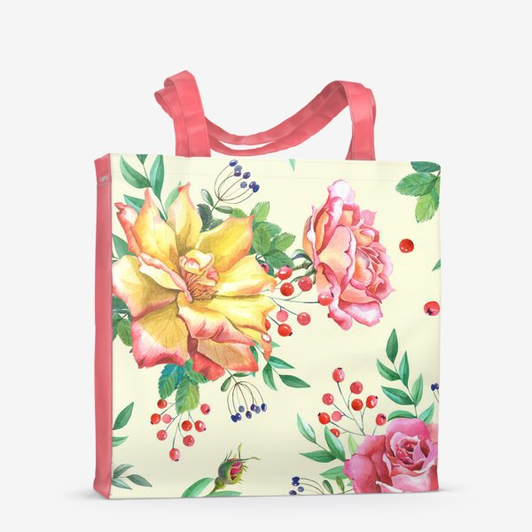 Сумка-шоппер «Розовый сад»