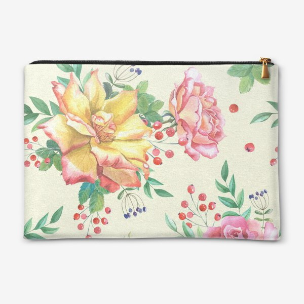 Косметичка «Розовый сад»