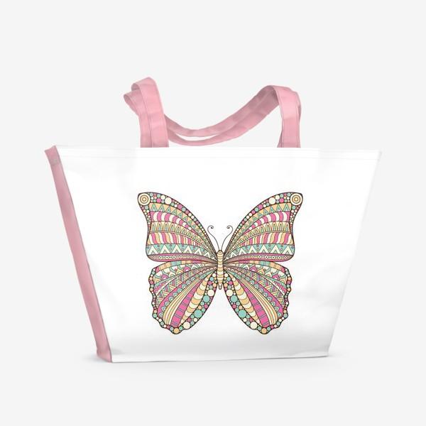 Пляжная сумка «Бабочка»