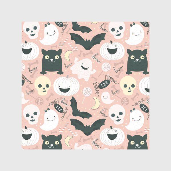 Скатерть «Хэллоуин в розовых тонах»