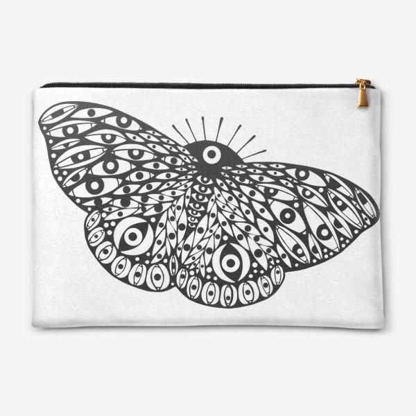 Косметичка «Бабочка в стиле сюрреализм»