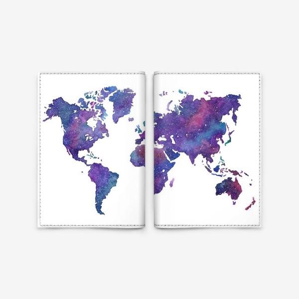 Обложка для паспорта «Cosmic Earth»