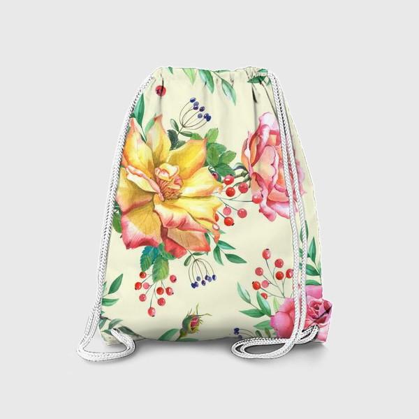 Рюкзак «Розовый сад»
