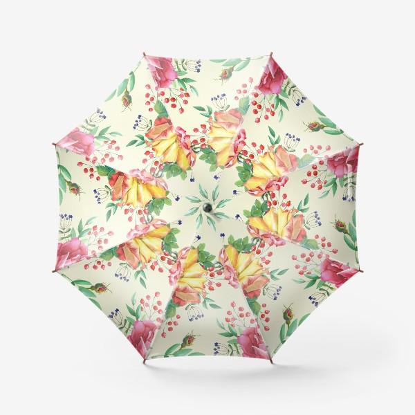 Зонт «Розовый сад»