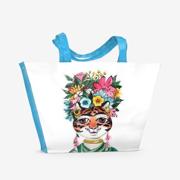 Пляжная сумка «Фрида_для черного»