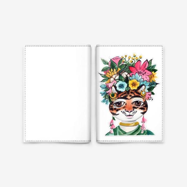 Обложка для паспорта «Фрида_для черного»