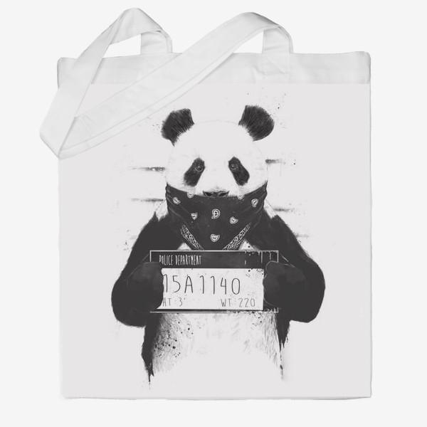 Сумка хб «Bad Panda автор Balazs Solti»