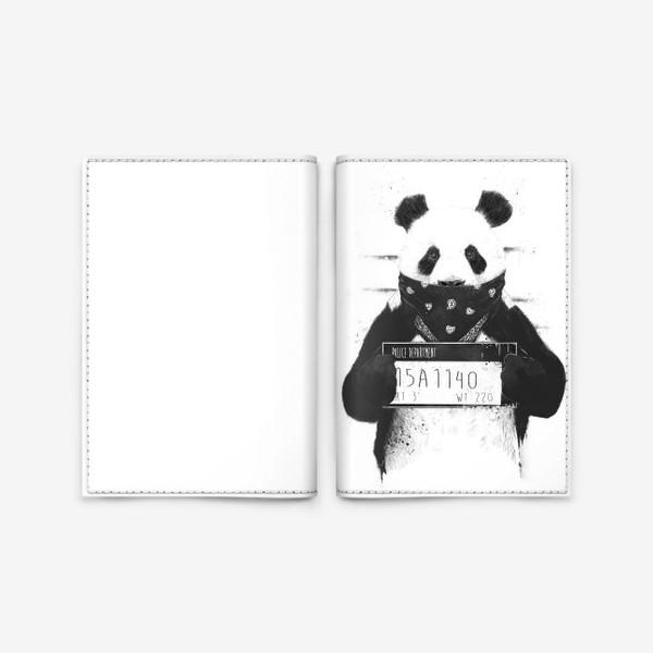 Обложка для паспорта «Bad Panda автор Balazs Solti»