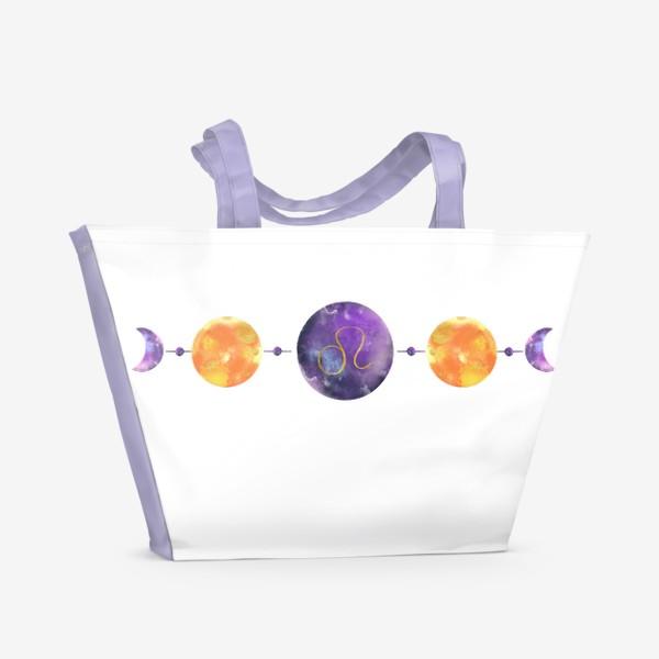 Пляжная сумка «Лев »