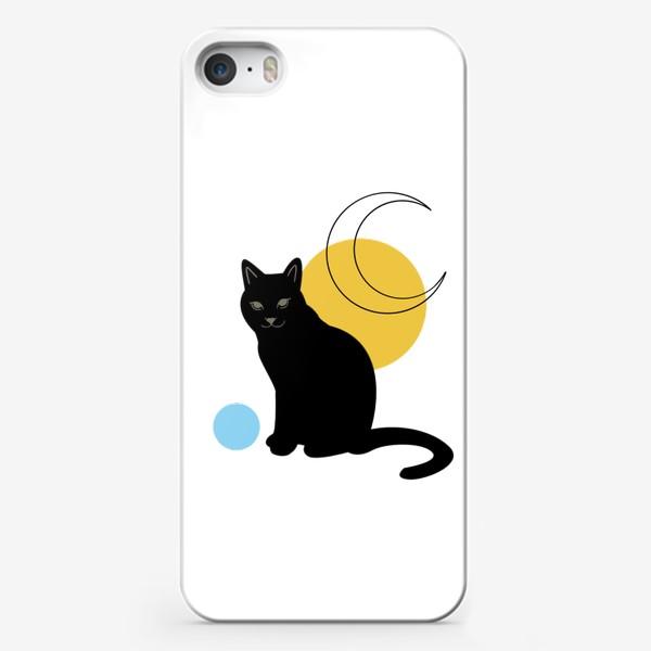 Чехол iPhone «Котик абстракция»