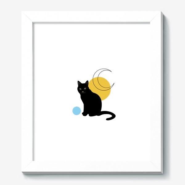 Картина «Котик абстракция»