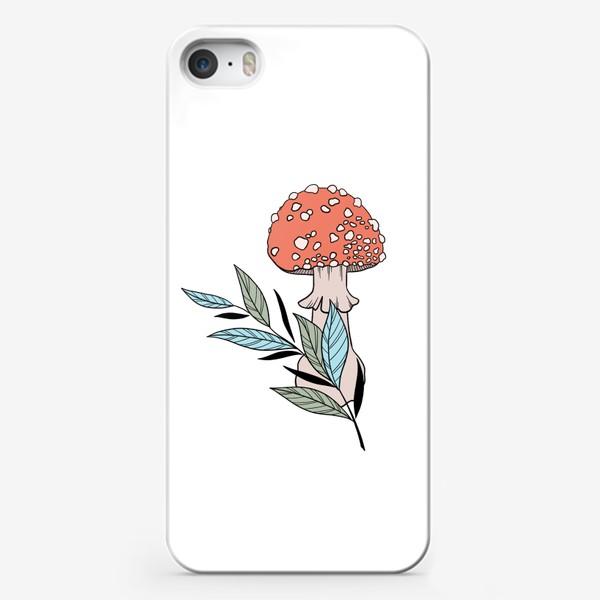 Чехол iPhone «Мухомор»