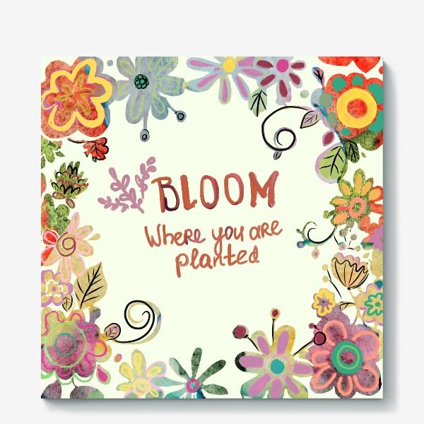 Холст «Blooming»