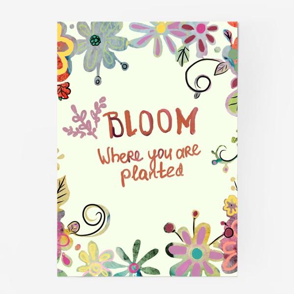 Постер «Blooming»