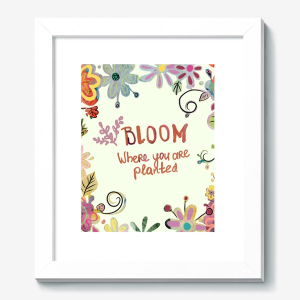 Картина «Blooming»