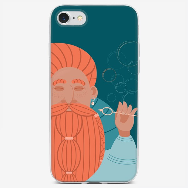 Чехол iPhone «Ловлю позитив»