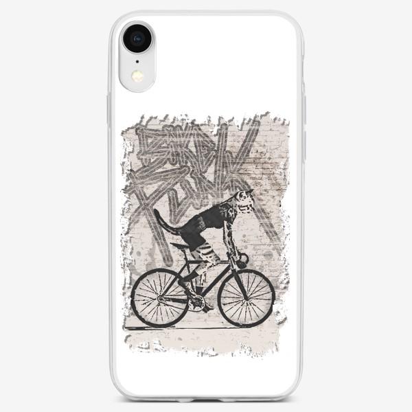 Чехол iPhone «Cat Punk Rider»