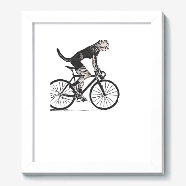 Картина «Cat Bike Punk Rider»