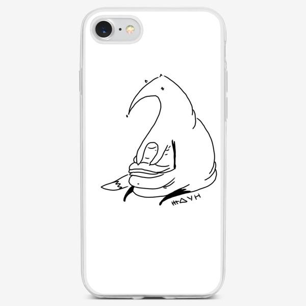 Чехол iPhone «Лиса ждун.»