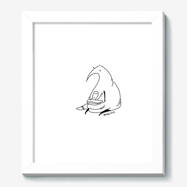 Картина «Лиса ждун.»