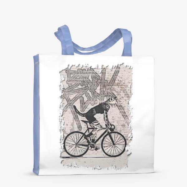 Сумка-шоппер «Cat Punk Rider»