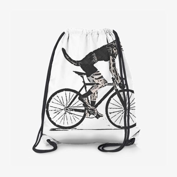 Рюкзак «Cat Bike Punk Rider»