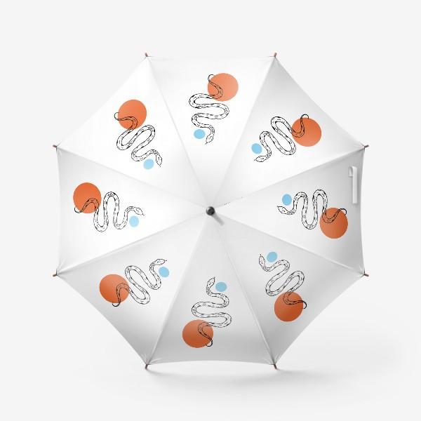 Зонт «Змея абстракция»