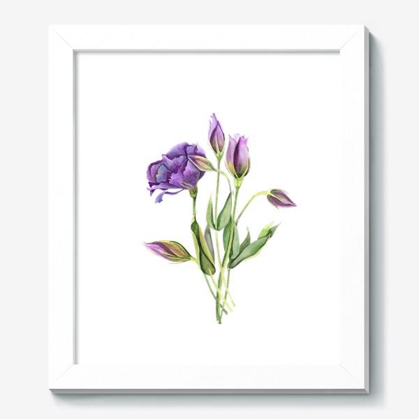 Картина «purple flowers»