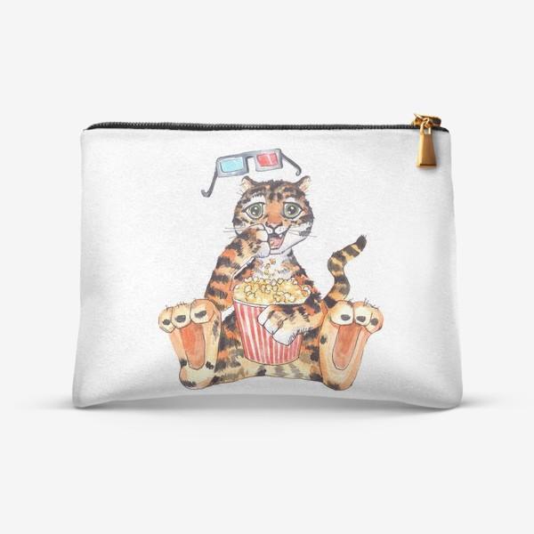 Косметичка «Тигр с попкорном»