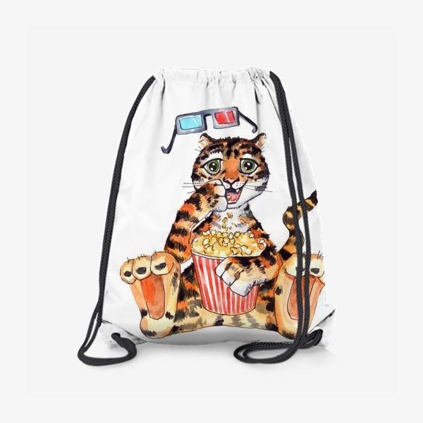 Рюкзак «Тигр с попкорном»