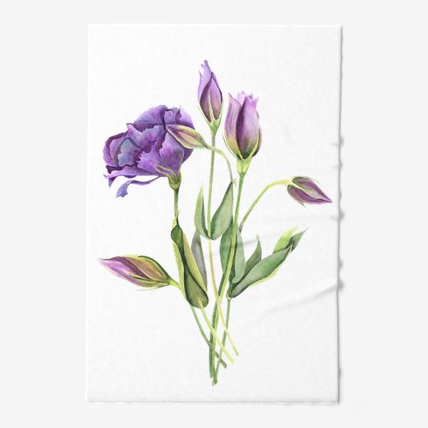 Полотенце «purple flowers»