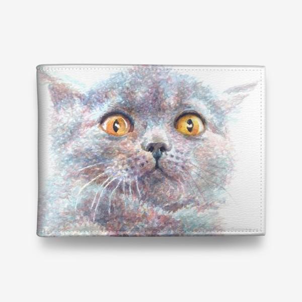 Кошелек «Серый котик»