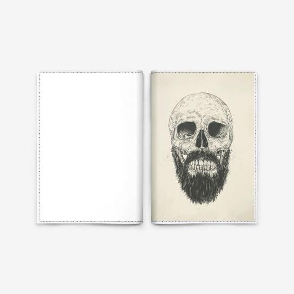Обложка для паспорта «The Beard Is Not Dead автор Balazs Solti»