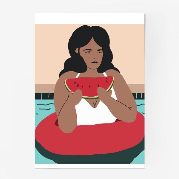 Постер «Летний релакс»