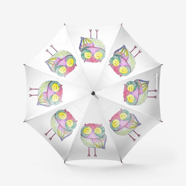 Зонт «Веселая Сова»