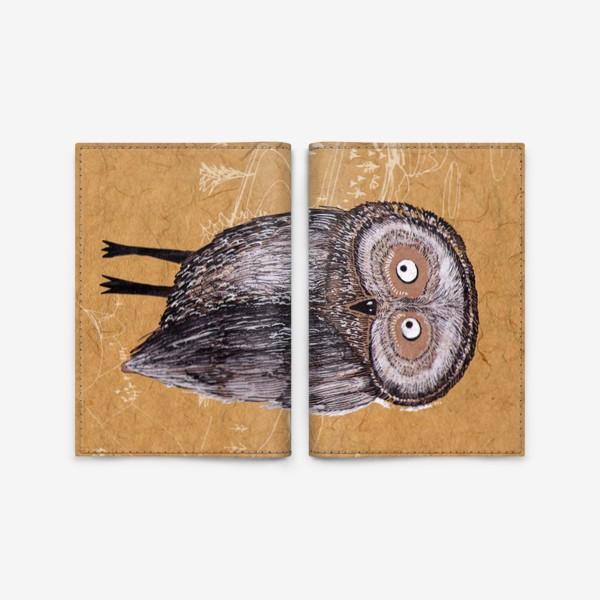 Обложка для паспорта «Совушка Фильх»