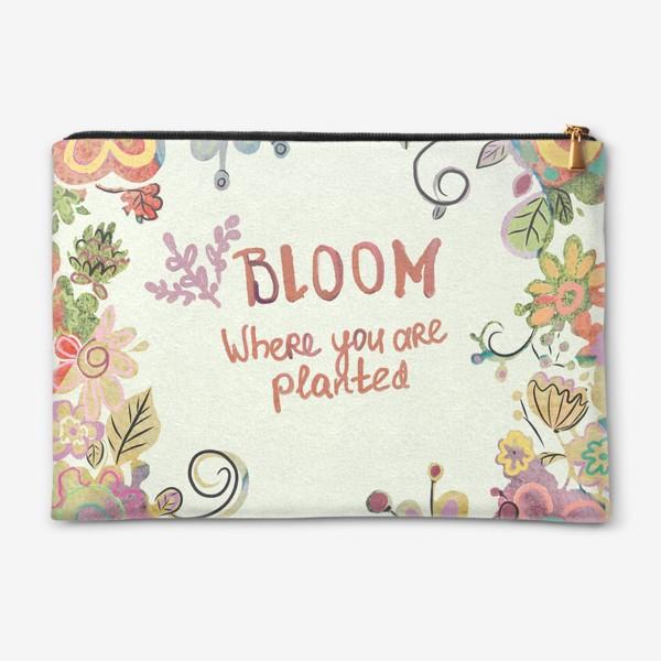 Косметичка «Blooming»