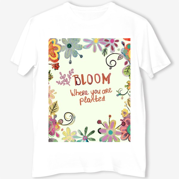 Футболка «Blooming»