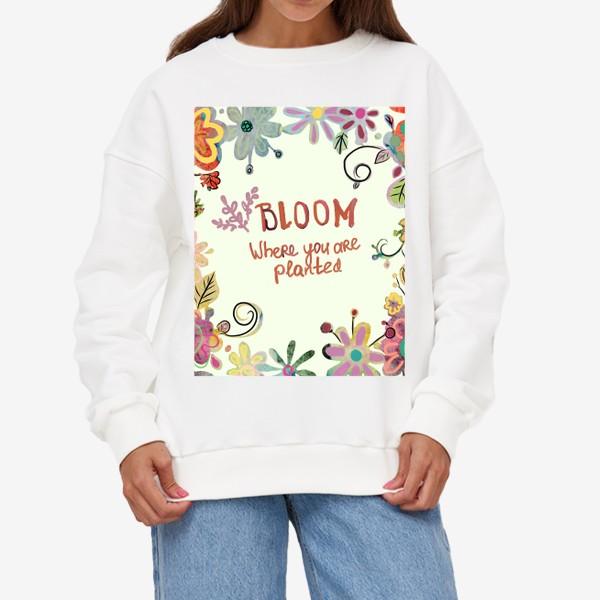 Свитшот «Blooming»