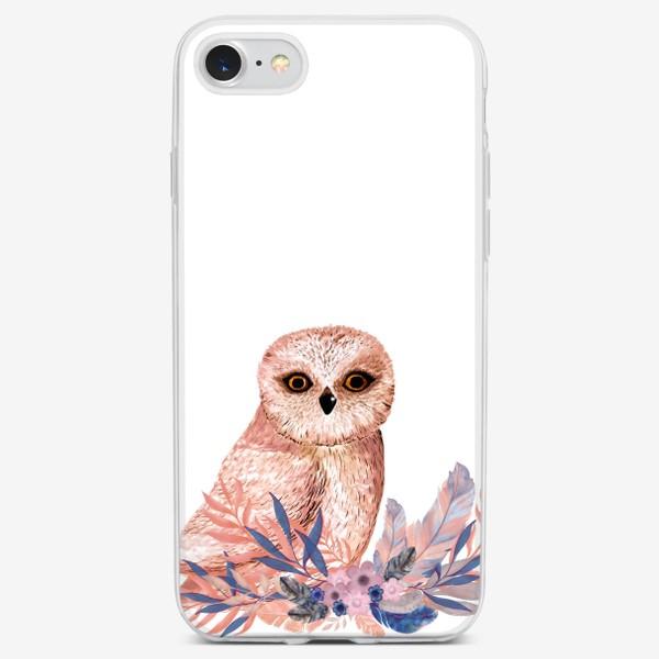 Чехол iPhone «Совушки Сова»
