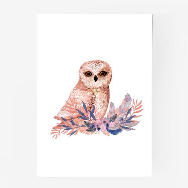 Постер «Совушки Сова»