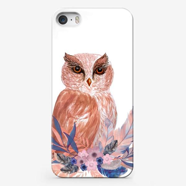 Чехол iPhone «Совушка Сова»