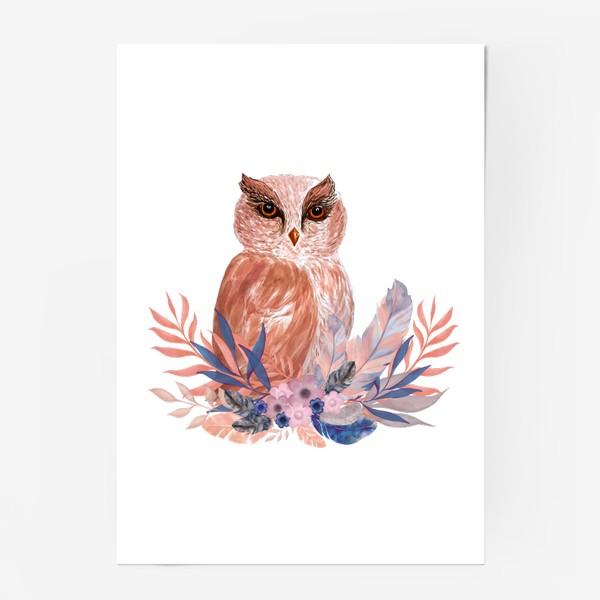 Постер «Совушка Сова»