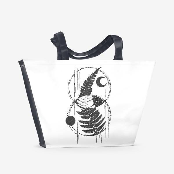 Пляжная сумка «My Space Fern»