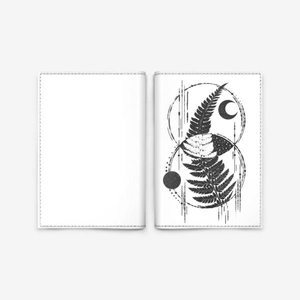 Обложка для паспорта «My Space Fern»