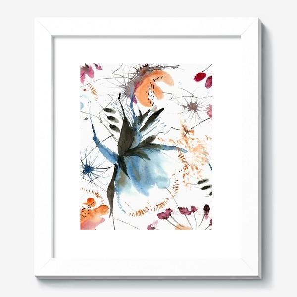 Картина «Осенние цветы»