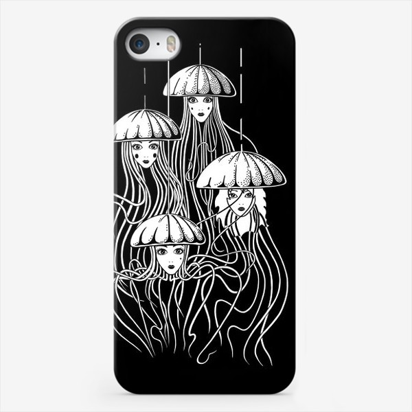 Чехол iPhone «Медузы»