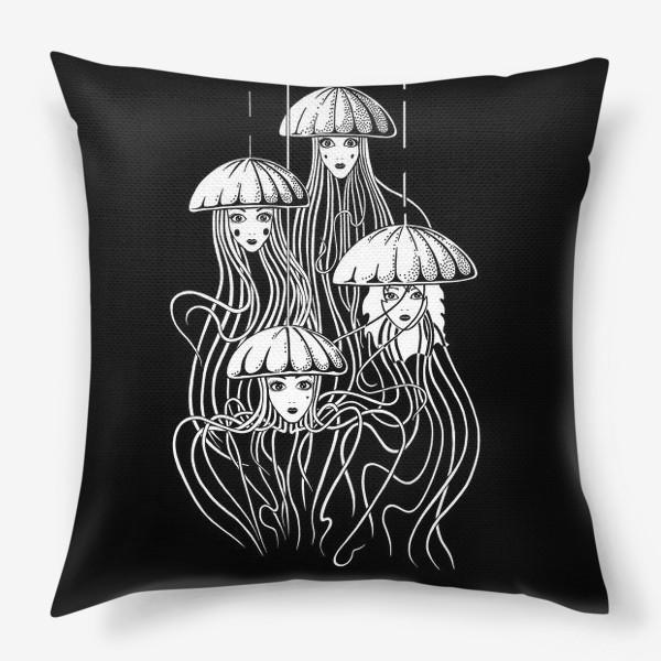 Подушка «Медузы»