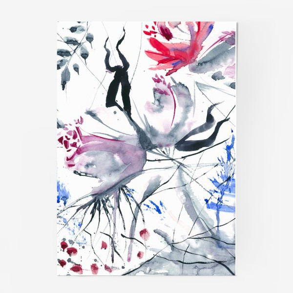 Постер «Зимние розы»