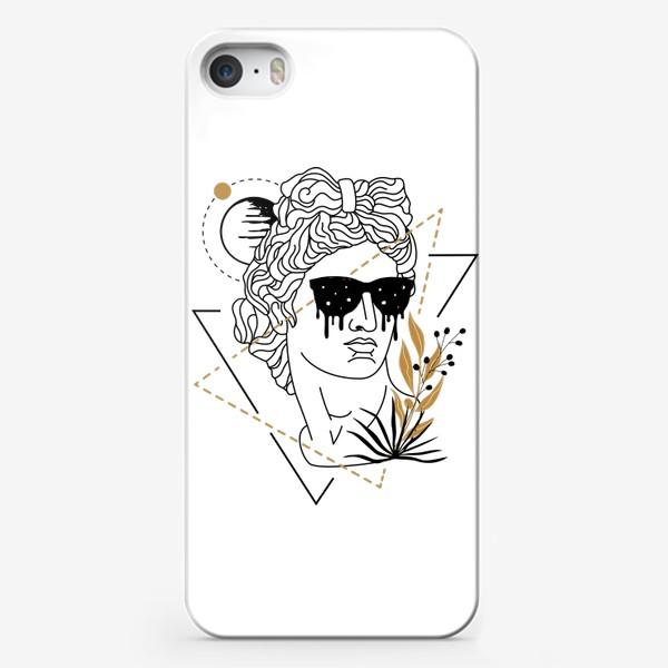 Чехол iPhone «Античная Статуя Давида Fashion Aesthetics »